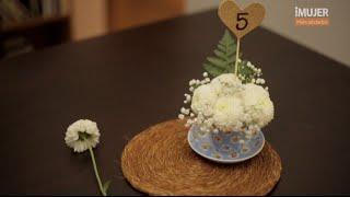 getlinkyoutube.com-Arreglos de centro de mesa para bodas | @iMujerHogar