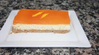 getlinkyoutube.com-أروع تشيز كيك بالبرتقال Cheesecake oranges