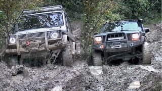 Jeep Cherokee vs Mercedes G