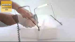 getlinkyoutube.com-Θερμικός κόφτης σύρματος -Proxxon THERMOCUT 12 E