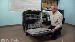 getlinkyoutube.com-Dishwasher Repair- Replacing the Bottom Door Gasket (Frigidaire Part # 154576501)