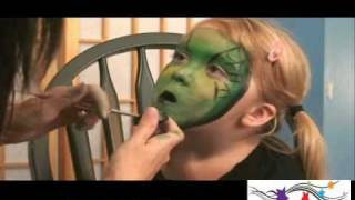 getlinkyoutube.com-Witch Face Painting Design Tutorial for Halloween