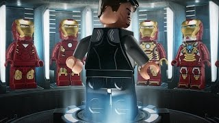 getlinkyoutube.com-Lego Marvel Avengers  костюмы Железного человека