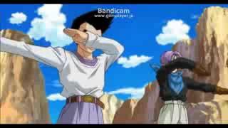 getlinkyoutube.com-Dragon Ball Heroes Fusion de Goten y Trunks Adulto SIN NOMBRE 115