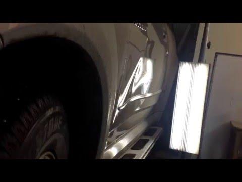 Ремонт водительской двери без покраски Great Wall Hover