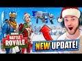 *NEW* CHRISTMAS UPDATE for Fortnite: Battle Royale!