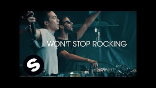 getlinkyoutube.com-R3hab & Headhunterz - Won't Stop Rocking (Official Music Video)