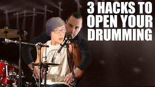 getlinkyoutube.com-Three Hacks to Open Your Drumming - The 80/20 Drummer