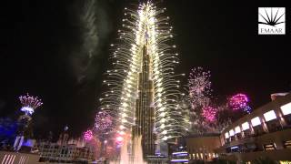 Burj Khalifa - 2014 New Year Celebrations