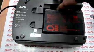 getlinkyoutube.com-APC 525 пищит, не заряжает новую батарею после самостоятельной замены