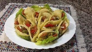 getlinkyoutube.com-البطبوط المغربي معمر بحشوة مميزة و لذيذة من المطبخ المغربي Batbout Farcis, Stuffed Bread