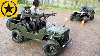 getlinkyoutube.com-CHILDREN Jeep with M60 MACHINE GUN!! Long Play ENGLISH SUBTITLES