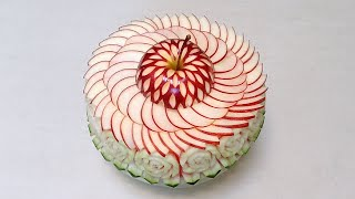 getlinkyoutube.com-Art In Cake Decorating Watermelon And Apple - Advanced Lesson 25 By Mutita The Art Of Fruit And Vege