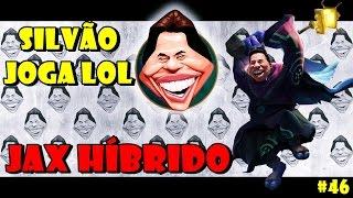 SILVIO SANTOS JOGA LOL #46 - JAX TOP HÍBRIDO - POSTE NAS COSTAS
