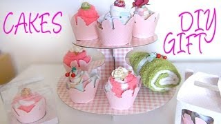 getlinkyoutube.com-Last Minute DIY Mother's Day Gift - Pampering Set with Sock Cupcakes & Towel Swiss Roll
