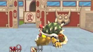 getlinkyoutube.com-SSBB hacks: SMBZ Mario Moveset V2(final version)