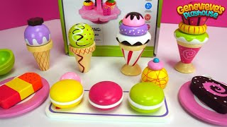 Fun Wooden Ice Cream and Cookie Toys for Kids!