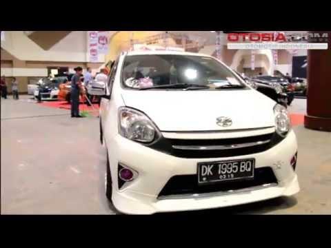 Modifikasi Minimalis Toyota Agya TRD