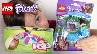getlinkyoutube.com-[OEUF & JOUET] Oeuf surprise , Lego Friends Ourson - Chocolate Egg & Toy