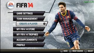 getlinkyoutube.com-FIFA 14 (PPSSPP) - Test