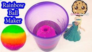 getlinkyoutube.com-DIY RAINBOW Bouncy BAll Mad Lab Ball Creator Do It Yourself Set Playset Kit Cookieswirlc Video