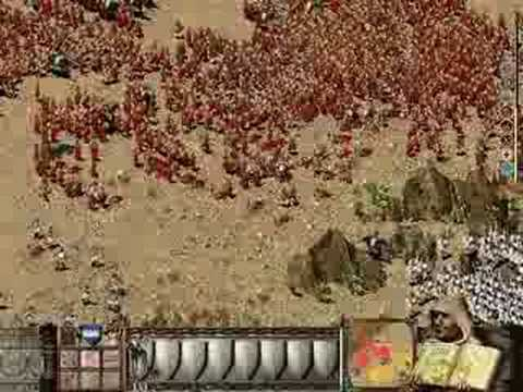 Stronghold Crusader Extreme - 10,000 troops battle
