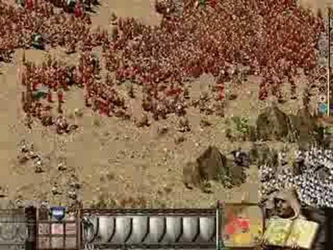 Stronghold Crusader Extreme - 10,000 troops battle