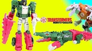 getlinkyoutube.com-Transformers Generations Meets Robots in Disguise Skullsmasher vs. Grimlock