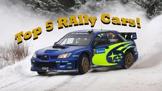 Personal Gta V Top 5 Rallying Cars