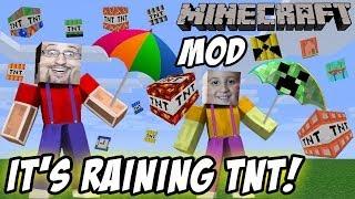 "getlinkyoutube.com-It's Raining TNT! Mike & Dad play Minecraft ""Too Much TNT"" Mod"