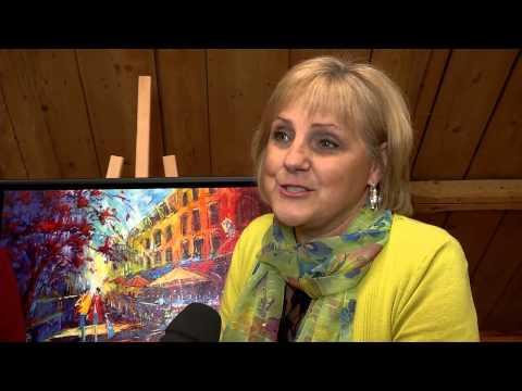 Un 12e Symposium de peinture haut en couleur