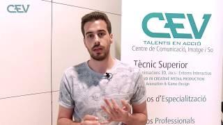Entrevista a Pau Sempere, alumne CEV BCN