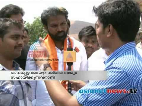 BJP candidate from Bellary B Sriramulu displayed confidence of winning elections