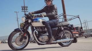 getlinkyoutube.com-2017 Triumph Bonneville T100 First Ride Review