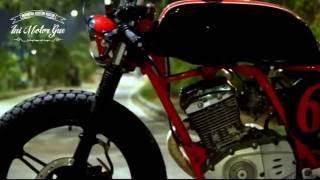 "getlinkyoutube.com-Ini Motor Gue  Suzuki Thunder 125 ""EL CAFE RED LINE"""