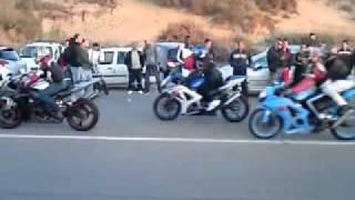 getlinkyoutube.com-Oran bomo plage moto skills