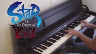 getlinkyoutube.com-Star vs. the Forces of Evil - Theme / Blood Moon Waltz - Piano