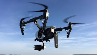Dji Inspire with 360° camera - 360° Video with drone