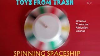 getlinkyoutube.com-SPINNING SPACESHIP - TAMIL - Super Spinning Toy!