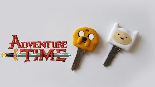 ★ DIY: Chaves do HORA DE AVENTURA ★ (Adventure Time Key Caps) | Ideias Personalizadas - DIY