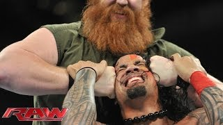 Rey Mysterio & The Usos Vs. Daniel Bryan, Luke Harper & Erick Rowan: Raw, Jan. 6, 2014