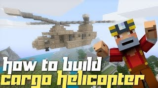 getlinkyoutube.com-Minecraft Xbox 360: How to Build a Cargo Helicopter!