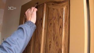 getlinkyoutube.com-Imitacion a madera en Puertas metálicas.