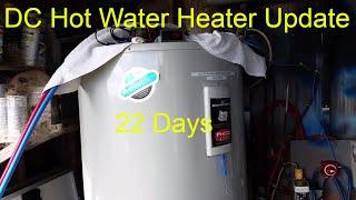 getlinkyoutube.com-22 Days On DC Hot Water Heater  (Update) Living Off The Grid