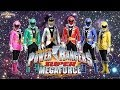 All Power Rangers Opening Mighty Morphin - Super Megaforce