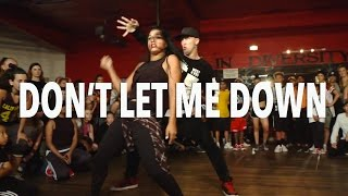 "getlinkyoutube.com-""DON'T LET ME DOWN"" - Chainsmokers ft Daya | @MattSteffanina Choreography"