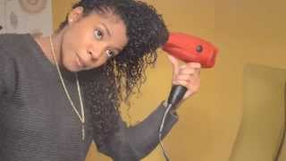 getlinkyoutube.com-UPDATE** Natural Curly Hair Routine -3B