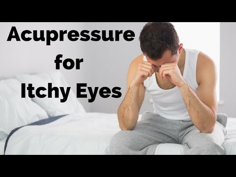 Acupressure for Itchy Eyes - Massage Monday #339