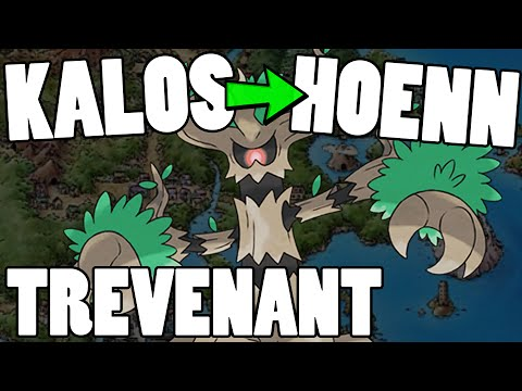Kalos to Hoenn - ORAS Trevenant Move Tutor Moveset & Strategy Guide! Trevenant ORAS Strategy