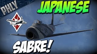 getlinkyoutube.com-War Thunder Jet Gameplay - Japans Top Tier JET! F-86F-30